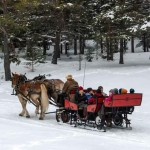 Open-sleigh-ride